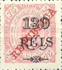 [King Carlos I Stamps of 1902-1903 Overprinted, type P7]