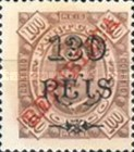 [King Carlos I Stamps of 1902-1903 Overprinted, type P8]