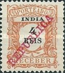 [Numeral Stamps of 1904 Overprinted