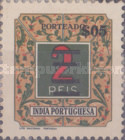 [Postage Due Stamps of 1952 Surcharged, Typ H]