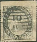 [Numeral Stamps - 33 Vertical Lines in Oval. Thick Soft Paper, Typ A5]