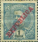 [Issue of 1898-1901 Overprinted in Red, type AN14]