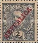 [Issue of 1898-1901 Overprinted in Red, type AN15]