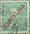 [Issue of 1898-1901 Overprinted in Red, type AN6]