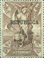 [Vasco da Gama Stamps of 1898 Overprinted