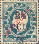 [Issue of 1902 Overprinted, Typ AU4]
