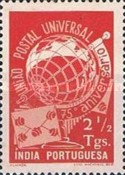 [The 75th Anniversary of the Universal Postal Union, type CJ]