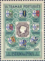 [The 100th Anniversary of Portuguese Postage Stamps, Typ DA]