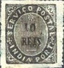 """[Numeral Stamps - """"Star"""" Above Value, Typ H]"""