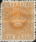 [Portuguese Crown - See Also No. 56A-63A, Typ J1]