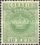 [Portuguese Crown - New Colors. See Also No. 65A-68A, type J17]