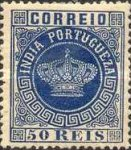 [Portuguese Crown - New Colors. See Also No. 65A-68A, type J21]