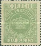 [Portuguese Crown - Different Perforation, Typ J22]