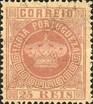 [Portuguese Crown - See Also No. 56A-63A, Typ J3]