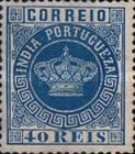 [Portuguese Crown - See Also No. 56A-63A, Typ J4]