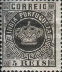 [Portuguese Crown - Different Perforation, Typ J9]