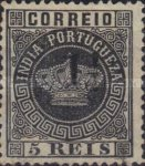 [Portuguese Crown Issues Surcharged - See Also No. 105A-122A, type R]