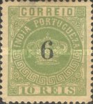 [Portuguese Crown Issues Surcharged - See Also No. 105A-122A, type R11]