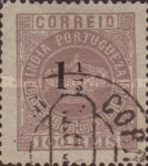 [Portuguese Crown Issues Surcharged - Different Perforation, Typ R23]