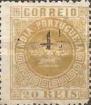 [Portuguese Crown Issues Surcharged - See Also No. 105A-122A, type R7]