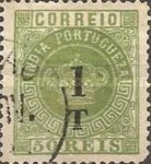 [Portuguese Crown Surcharged - Different Perforation, Typ S33]