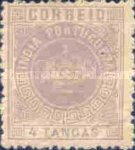 [Portuguese Crown - See Also No. 149A-155A, type T5]