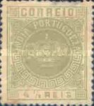 [Portuguese Crown - Different Perforation, Typ T8]