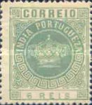[Portuguese Crown - Different Perforation, Typ T9]
