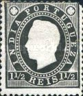 [King Luis I - See Also No. 161A-167A, Typ W]