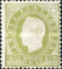 [King Luis I - See Also No. 161A-167A, type W1]