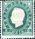 [King Luis I - See Also No. 161A-167A, type W2]