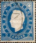 [King Luis I - See Also No. 161A-167A, type W4]