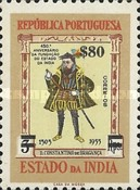 [The 450th Anniversary of Portuguese India Stamps of 1956 Surcharged, Typ XDW6]