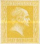[King Friedrich Wilhelm IV. Smooth Background, Typhographed, Typ B3]