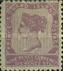 [Queen Victoria - Different Perforation. Yellowish Paper, type F]