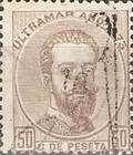 [Cuban Postage Stamps Overprinted, type A1]