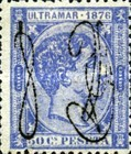 [Cuban Postage Stamps Overprinted in 2 Types, type D1]