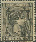 [Cuban Postage Stamps Overprinted in 2 Types, type D2]