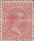 [King Alfonso XII of Spain, type L27]