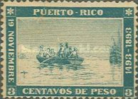 [The 400th Anniversary of the Landing of Columbus in the New World, type O]