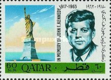 [John F. Kennedy - Previous Issues Surcharged, Typ ]