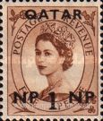[Great Britain Postage Stamps Surcharged, Typ A]