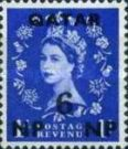 [Great Britain Postage Stamps Surcharged, type A2]