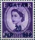 [Great Britain Postage Stamps Surcharged, type A6]