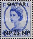 [Great Britain Postage Stamps Surcharged, type A7]