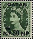 [Great Britain Postage Stamps Surcharged, type A9]