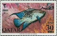 [Fish of the Arabian Gulf - Previous Issues Surcharged, Typ AA2]