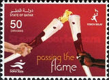 [The 15th Asian Games, Doha - Torch Relay, Typ AFG]