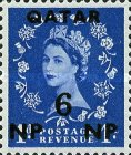 [Great Britain Postage Stamps Surcharged, type D1]