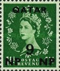 [Great Britain Postage Stamps Surcharged, type D2]